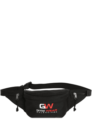 Logo Gym Embroidery Nylon Belt Bag