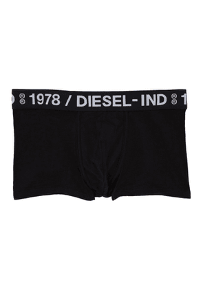 Diesel Three-Pack Black UMBM Damien Boxer Briefs