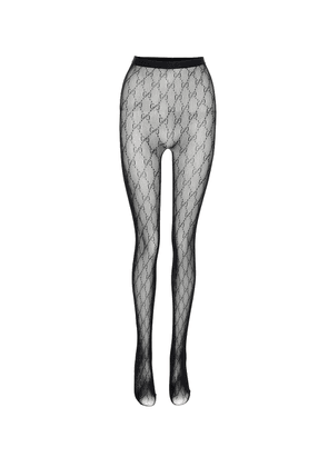 GG patterned tights