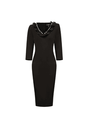 Nissa - Bodycon Dress With V Neckline