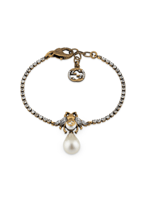 Bee bracelet with pearl