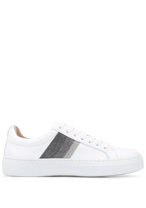 Fabiana Filippi embellished low-top sneakers - White