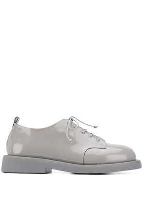 Marsèll patent leather lace-up shoes - Grey