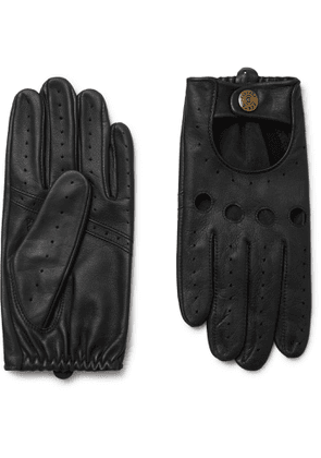 Dents - Silverstone Touchscreen Leather Driving Gloves - Men - Black