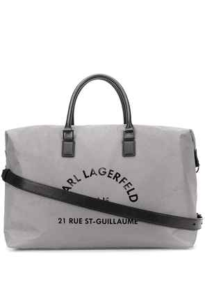 Karl Lagerfeld Rue St Guillaume weekend bag - SILVER
