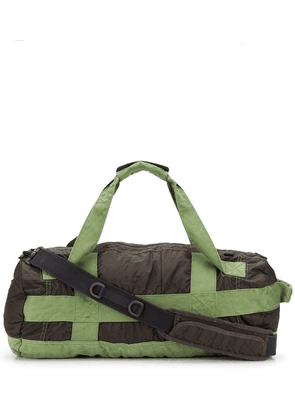Stone Island Shadow Project GD large holdall - Green