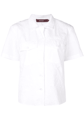 Sies Marjan creased shirt - White