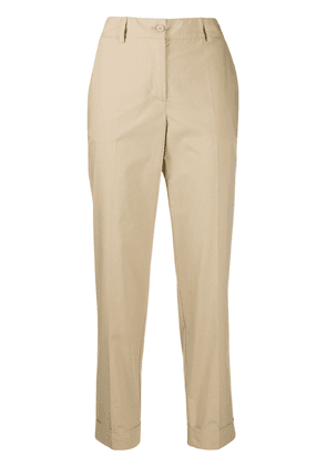 P.A.R.O.S.H. Canyon tapered trousers - NEUTRALS