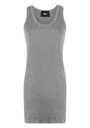 Dolce & Gabbana rib-knit tank top - Grey