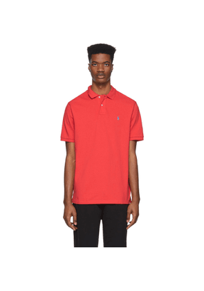 Polo Ralph Lauren Red Mesh Iconic Polo