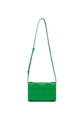 Bottega Veneta Green Intrecciato Cassette Bag