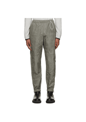 Kenzo Taupe Coated Taffeta Lounge Pants