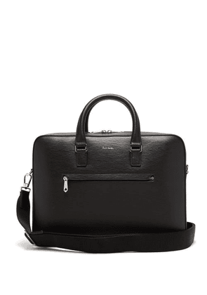 Paul Smith - Logo-embossed Leather Briefcase - Mens - Black