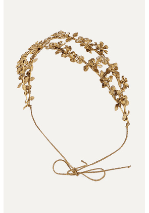 Jennifer Behr - Adele Gold-tone Headband - one size