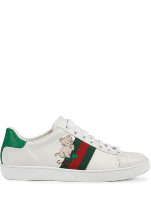 Gucci Ace low-top sneakers - White