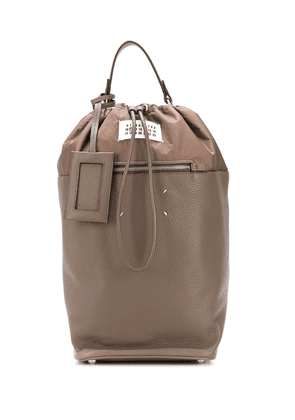 Maison Margiela 4-stitch backpack - Brown