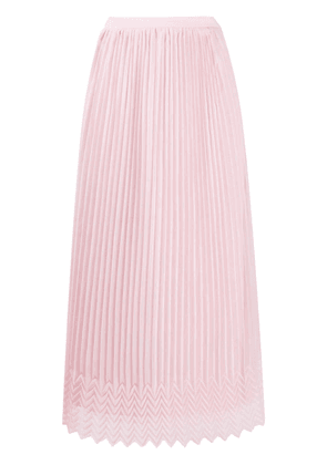 Marco De Vincenzo high waisted pleated skirt - PINK