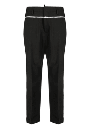 Dsquared2 high-waisted tapered trousers - Black
