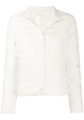 Fabiana Filippi snap-button puffer jacket - White