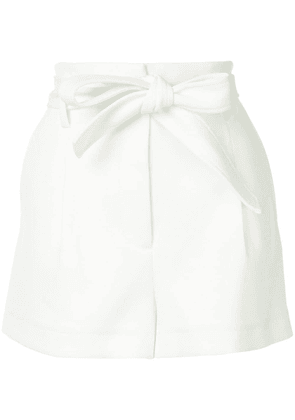 3.1 Phillip Lim High Waist Twill Short - White