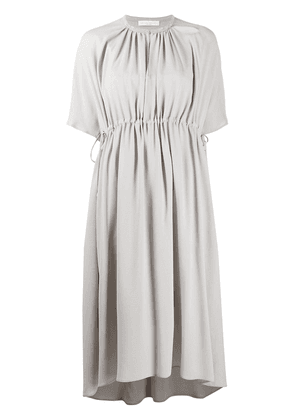 Fabiana Filippi flared midi dress - Grey