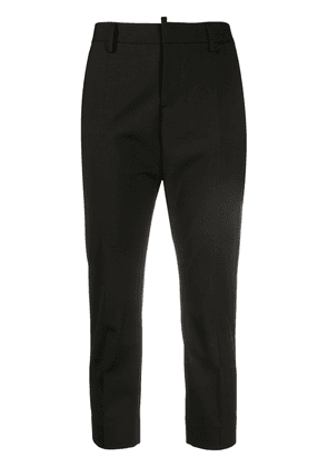 Dsquared2 slim-fit cropped trousers - Black
