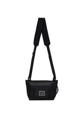 Acne Studios Black Logo Plaque Belt Messenger Bag
