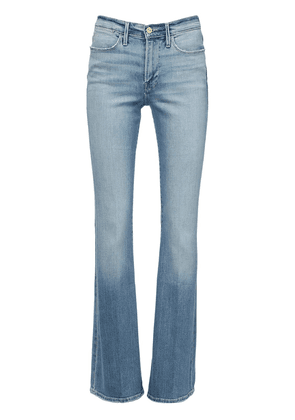 Le High Waist Flared Denim Jeans