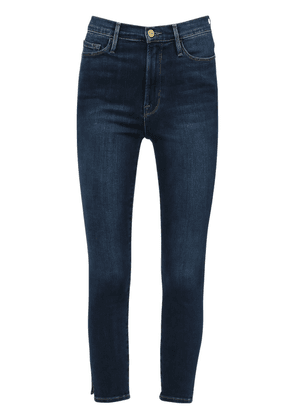 Ali High Waist Cigarette Denim Jeans