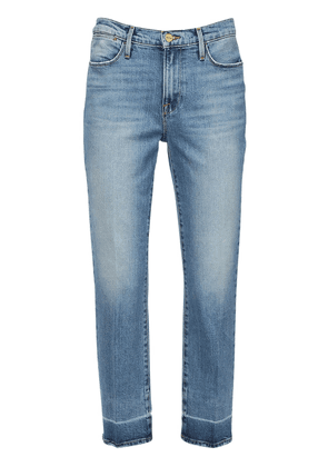 Alwide Straight Cotton Denim Jeans
