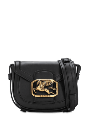 Pegaso Mini Leather Shoulder Bag