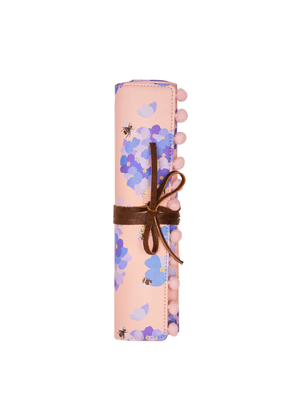 Fenella Smith - Bee & Hydrangea Jewellery Roll