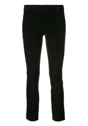 Vince cropped skinny trousers - Black