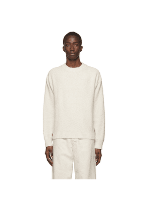 Jil Sanderand Off-White Knit Sweater