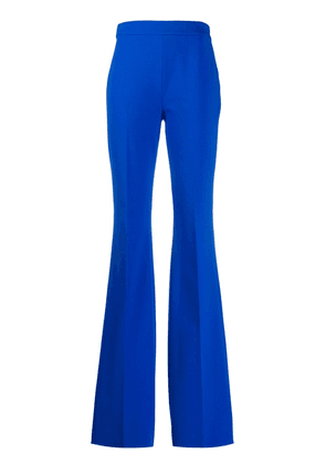 Emilio Pucci high-waisted flared trousers - Blue