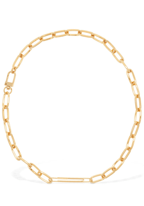 Gold Harlem Clip Necklace