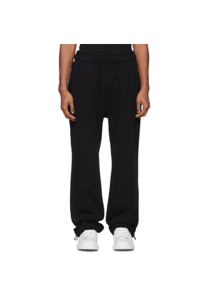 McQ Alexander McQueen Black Trackies Lounge Pants