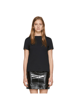 Helmut Lang Black Stacked T-Shirt