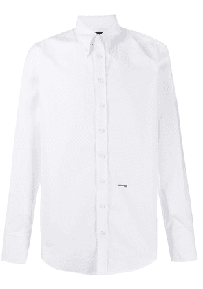 Dsquared2 long-sleeve fitted shirt - White