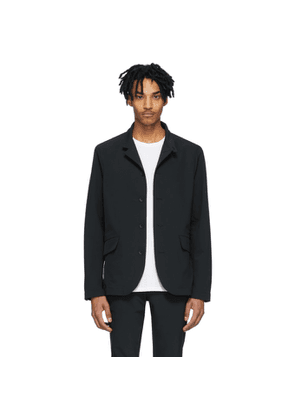 rag and bone Black Tech Deconstructed Razor Jacket