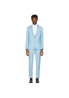 Paul Smith Blue Wool and Mohair Soho Suit