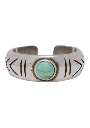 Isabel Marant Blue and Silver Summer Ring