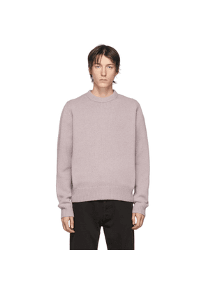 Acne Studios Purple Wool Sweater
