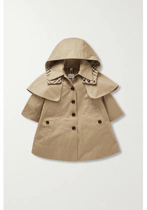 Burberry Kids - Ages 3 - 12 Cotton-gabardine Trench Coat