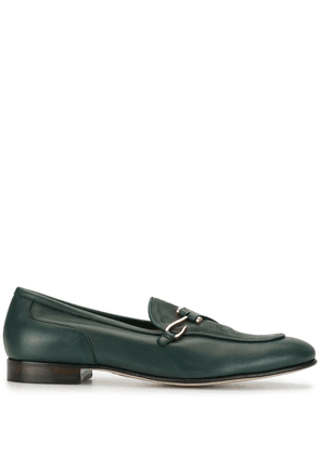 Edhen Milano contrast loafers - Green