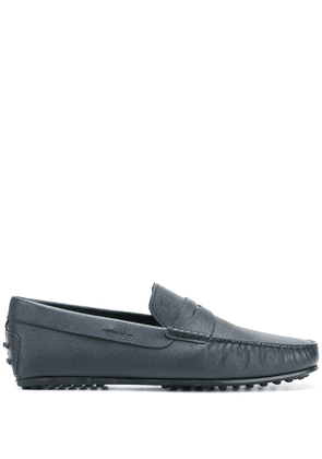 Tod's mocassino city gommino loafers - Blue