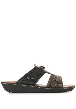 Tod's slip-on sandals - Brown