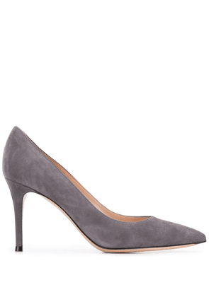 Gianvito Rossi pointed toe 90mm pumps - Grey