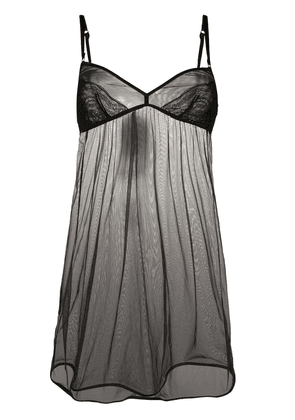 Dolce & Gabbana sheer nightgown - Black