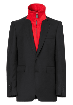 Burberry track top insert tailored jacket - Black